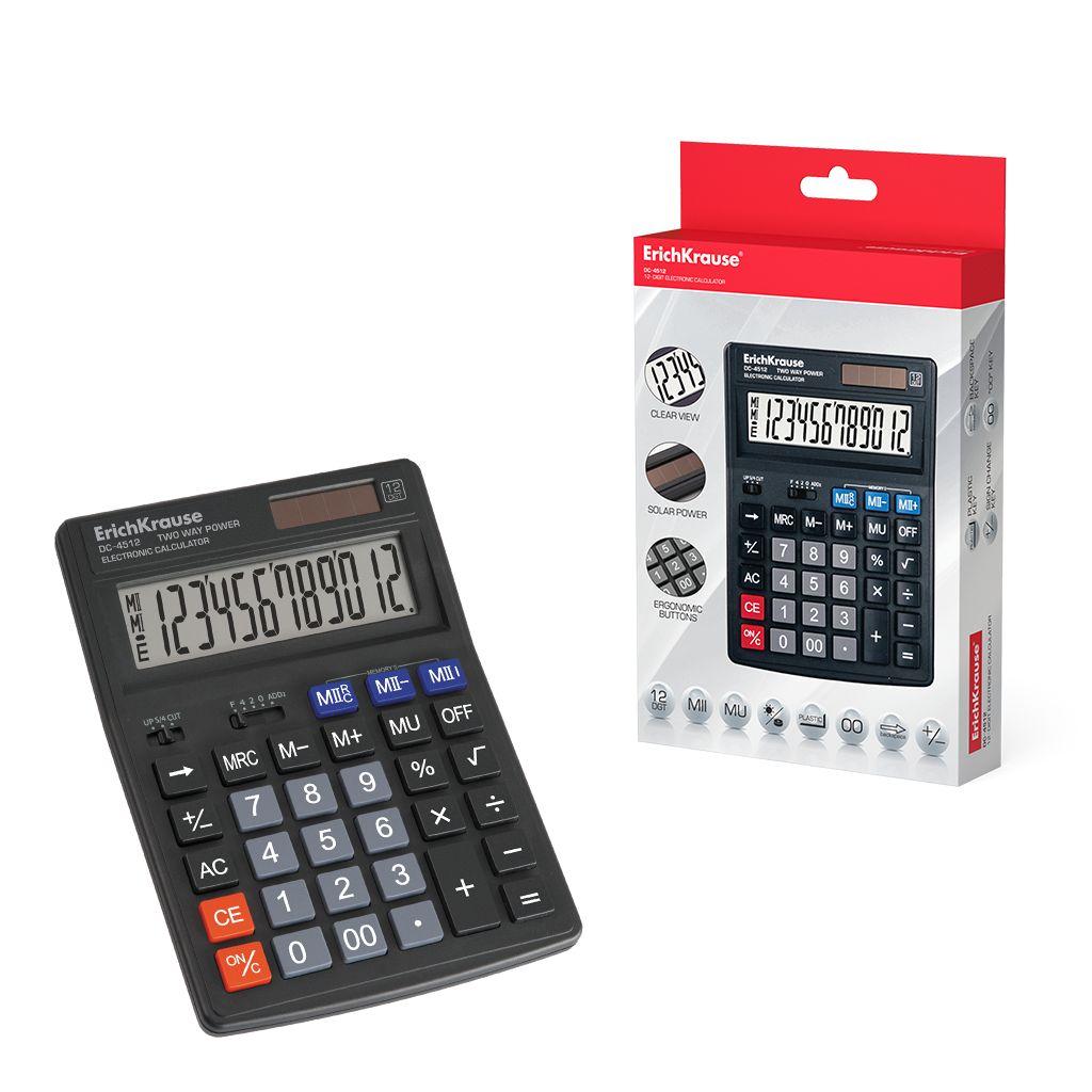 Калькулятор 12 разр. EK DC-4512