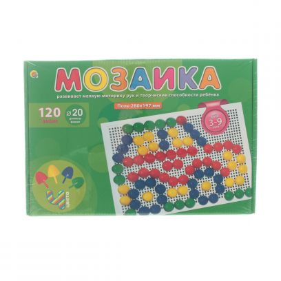 Мозаика 120 фишек d=20 мм