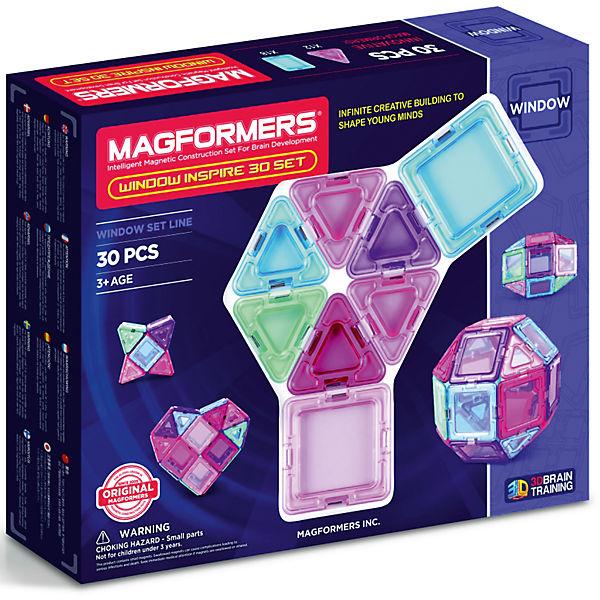 Конструктор магнитный Магформерс Window Inspire Set 30дет