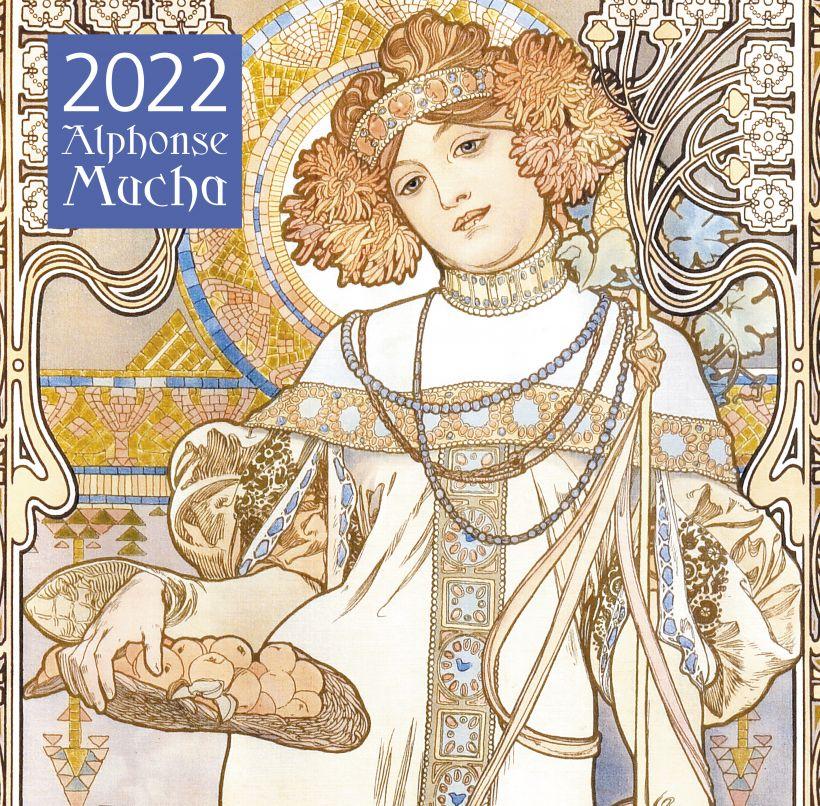 Календарь настенный 2022 Альфонс Муха