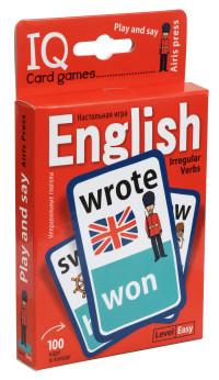 Умные игры с картами. Английские неправильные глаголы. Уровень 1: Красный