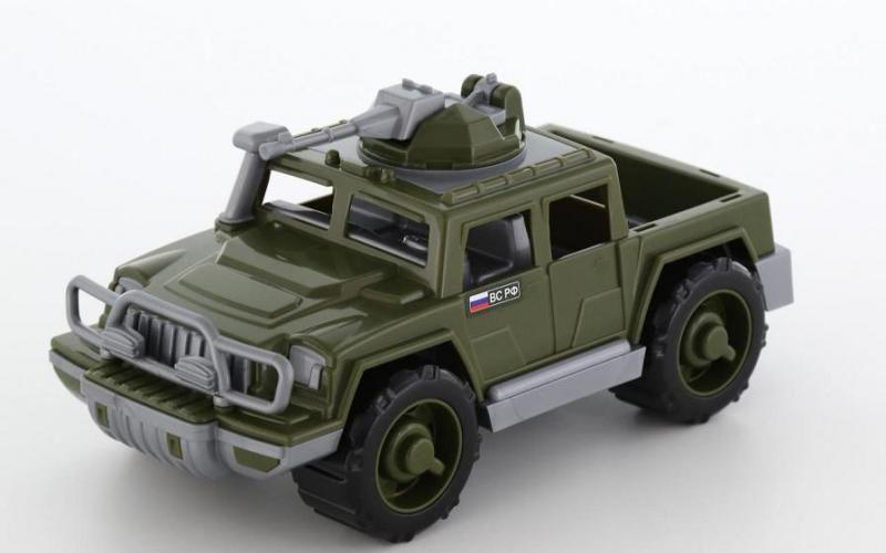Автомобиль-пикап военный Защитник с 1-м пулеметом