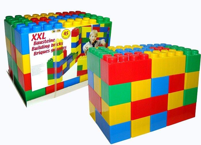 "Конструктор ""XXL"" 45 эл. пластмас."