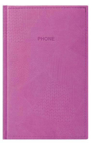 телефонная книжка А5 EK Bazar сиреневая