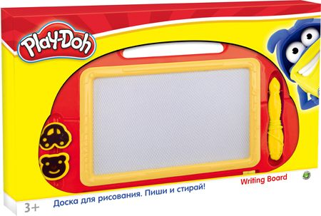 Доска маркерная А4 Play Doh фигурная + ручка, 2 печати