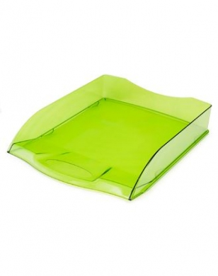 Поддон 1 отд Hatber зеленый полупрозрачный