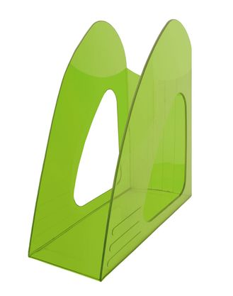Лоток верт 1отд Hatber зеленый полупрозрачный