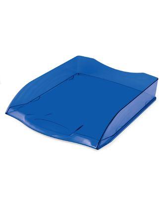 Поддон 1отд Hatber синий полупрозрачный