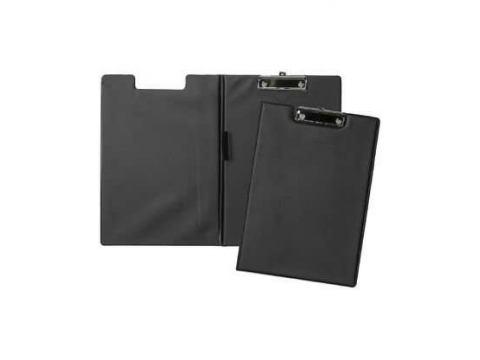 Папка-планшет А4 двойной черный