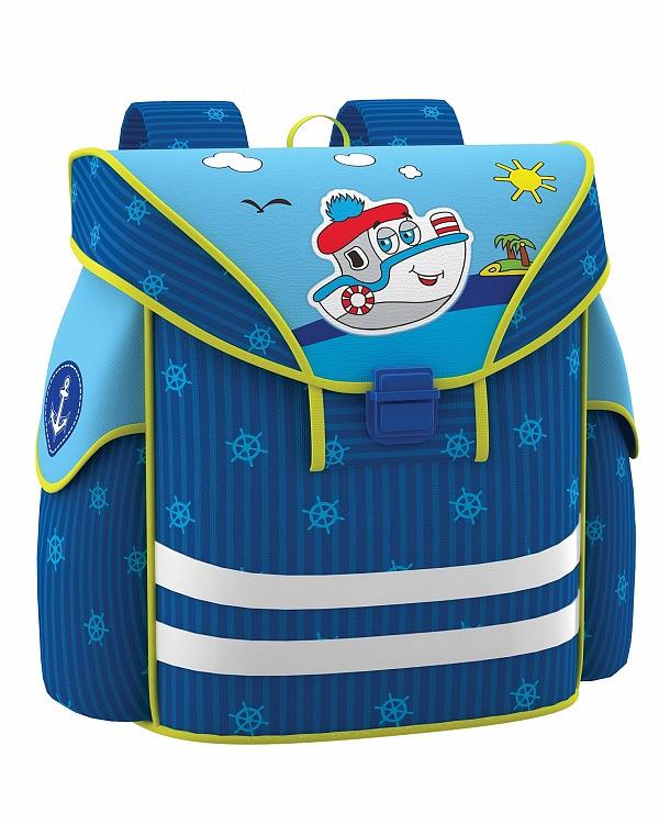 Рюкзак детский EK Artberry Кораблик синий