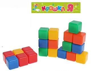 Кубики 16шт. малые
