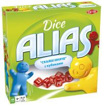 Игра АКЦИЯ-20 Игр Настольная Alias с кубиками