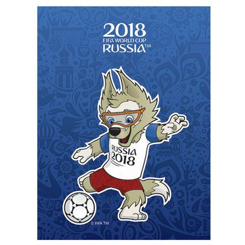 Зап. книжка А6 ЧМ ПО ФУТБОЛУ 2018 ТАЛИСМАН