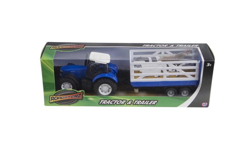 Машина Большой трактор и трейлер