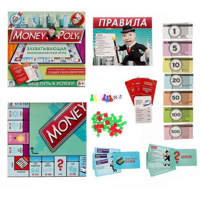 Настольная Экономическая Money Polys