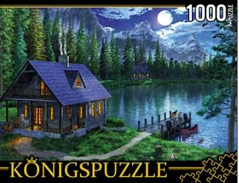 Пазл 1000 Konigspuzzle Лунное озеро