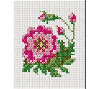 Творч Набор для вышивания 33х40 Цветок