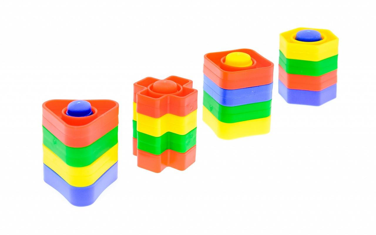 Игра Развивающая Геометрические формы 16эл.