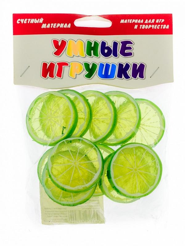 Развивающая Счетный материал Слайсы лимона 12 шт.