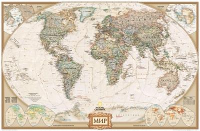 Карта: Карта мира под старину 1:43 257 000