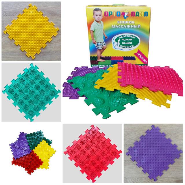 Массажные коврики Комплект Микс-2 Ежики