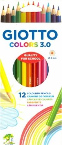 Карандаши цветные 12 цв Giotto Colors 3.0