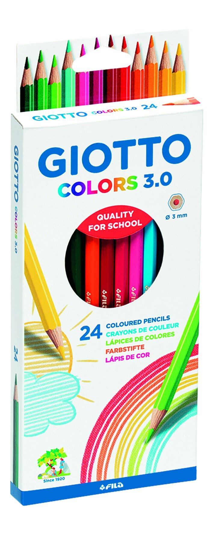 Карандаши цветные 24 цв Giotto Colors 3.0