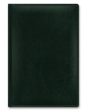 Ежедневник А5 Sarif Classic Зеленый кожзам недат