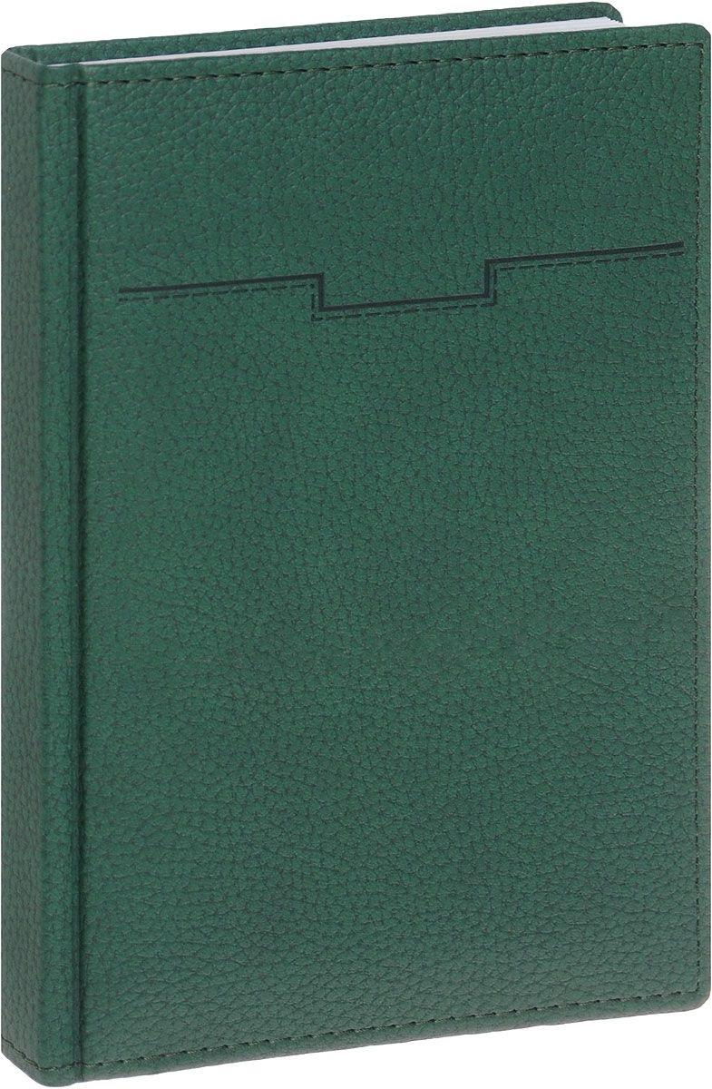 Ежедневник А5 Armonia Elefant Зеленый кожзам недат