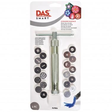 Экструдер металлический + 20 насадок DAS SMART