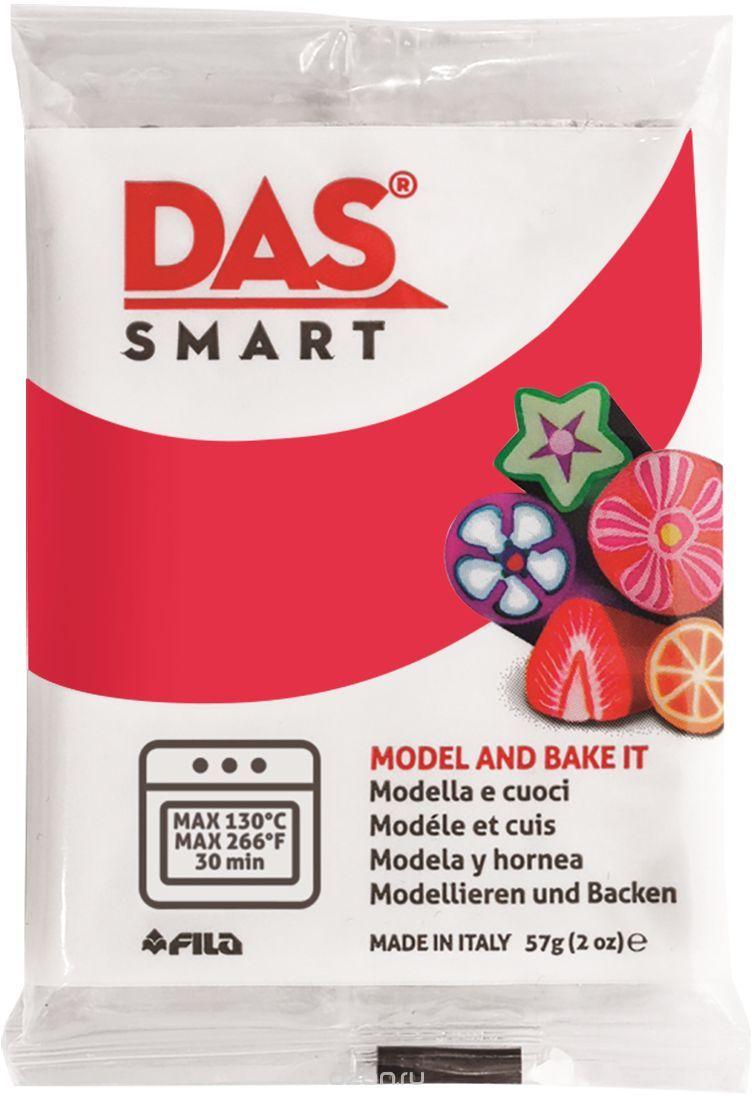 Паста для моделирования 57гр DAS SMART карминный красный