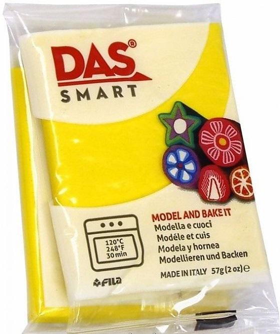Паста для моделирования 57гр DAS SMART желтый теплый