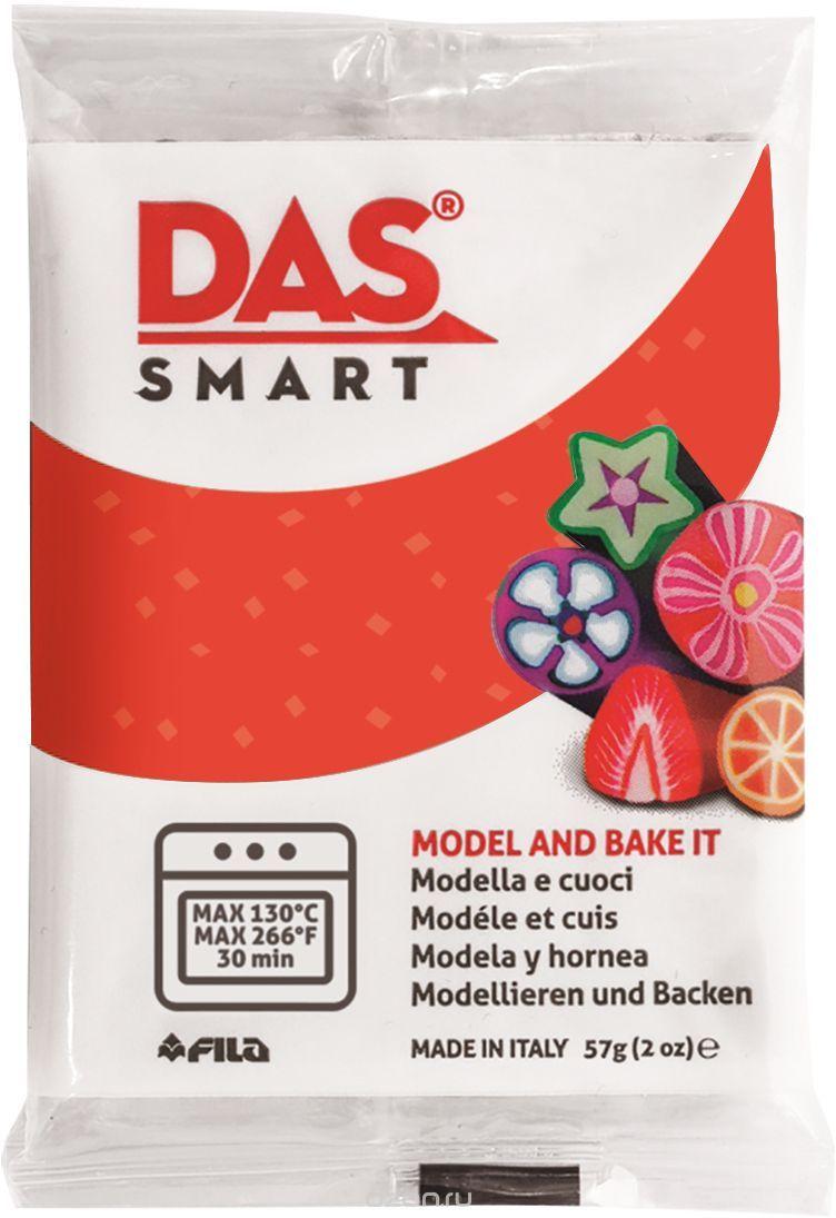 Паста для моделирования 57гр DAS SMART красный