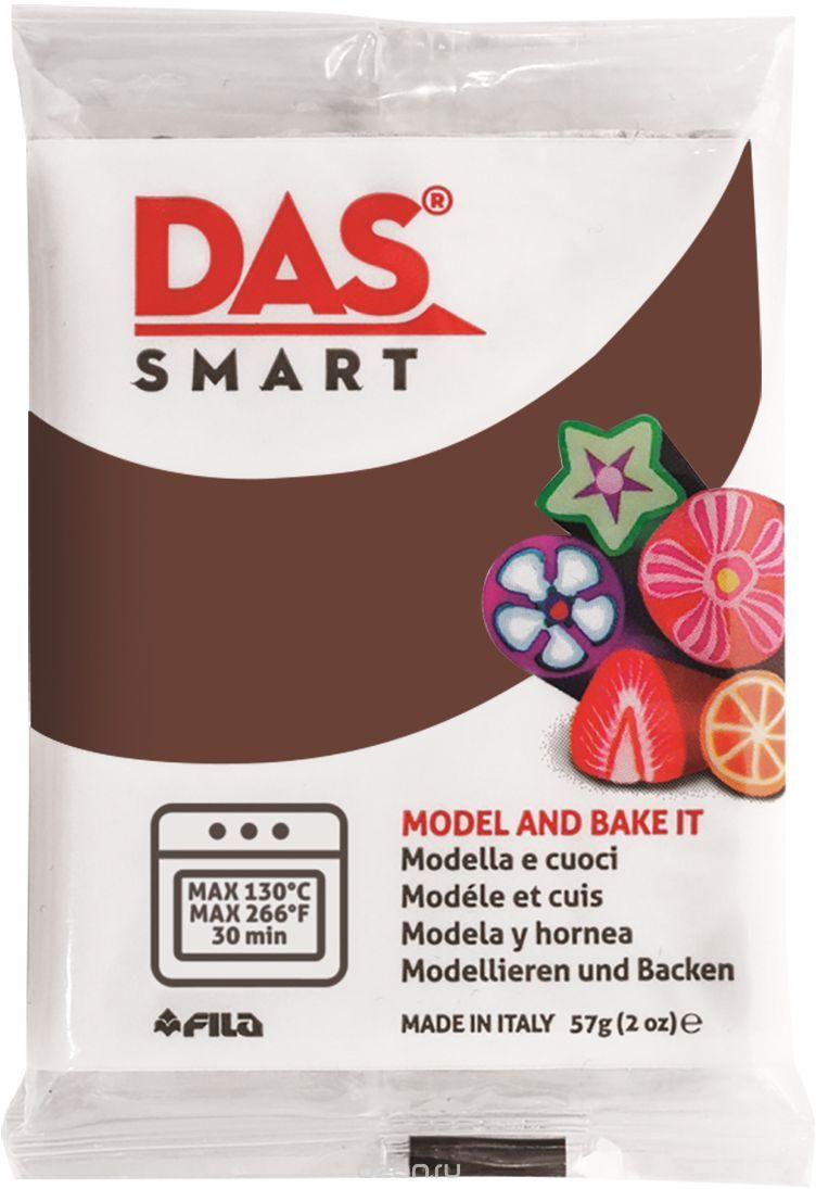 Паста для моделирования 57гр DAS SMART шоколадный