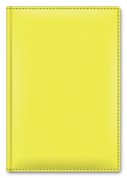 Ежедневник А5 NEBRASKA THERMO CHARM Лимонный недат кожзам