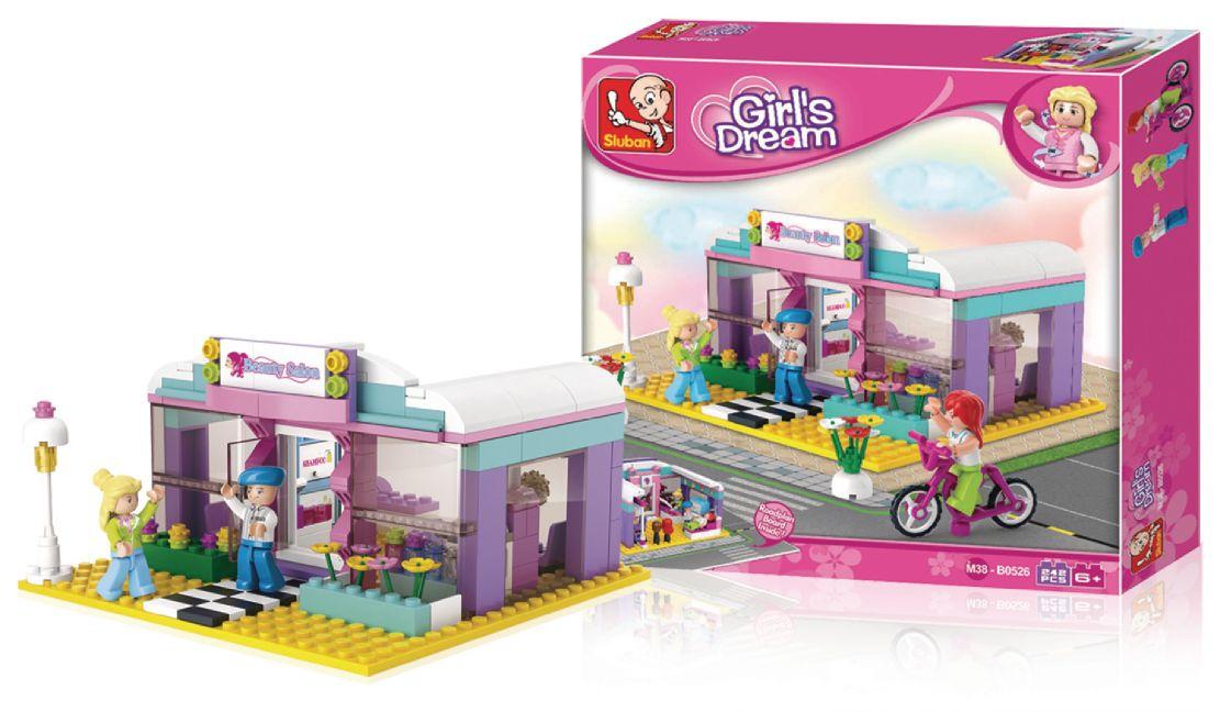 Конструктор Розовая мечта: Салон красоты 243 дет. пластмас.