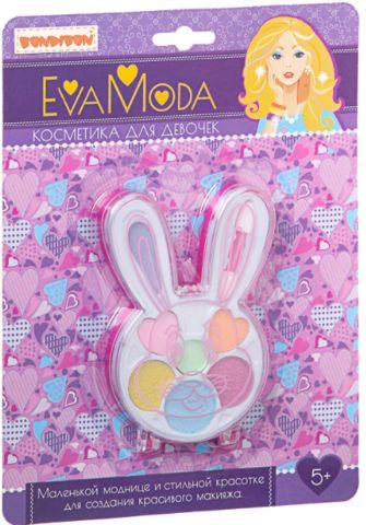 Набор детской декоративной косметики Bondibon Eva Moda Зайчик с тенями