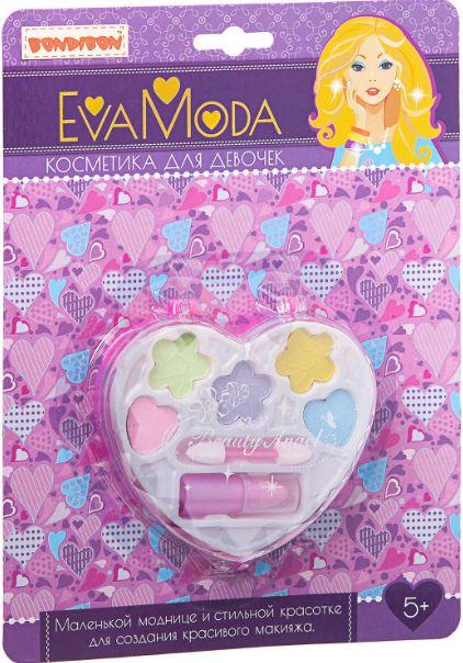 Набор детской декоративной косметики Bondibon Eva Moda Сердечко