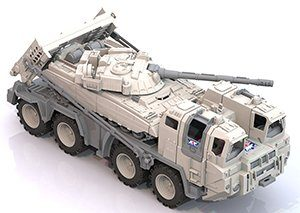 """Машина Военный тягач """"Арктика"""" с танком пластмас."""