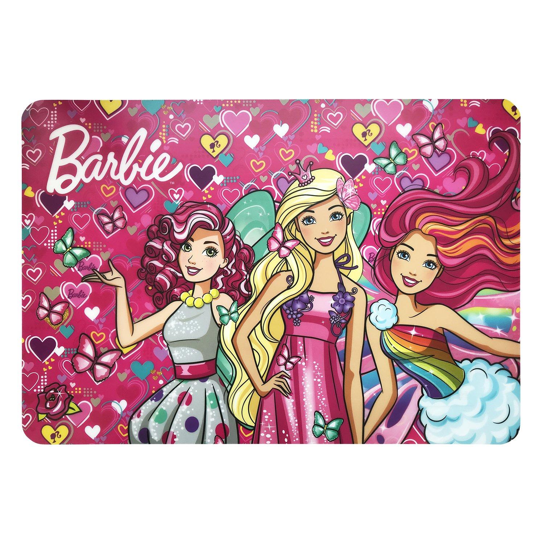 Коврик настольный А3 Limpopo Mattel Barbie