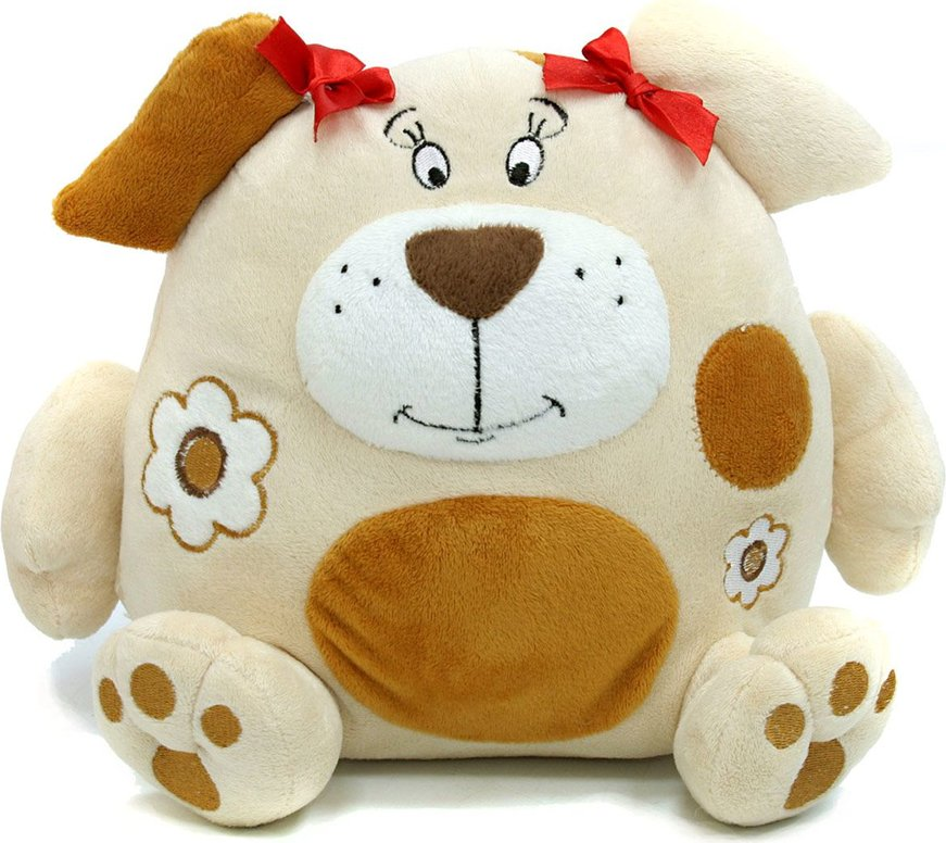 Интерактивная Мягконабивная Собака 22см (смеется, трясется)
