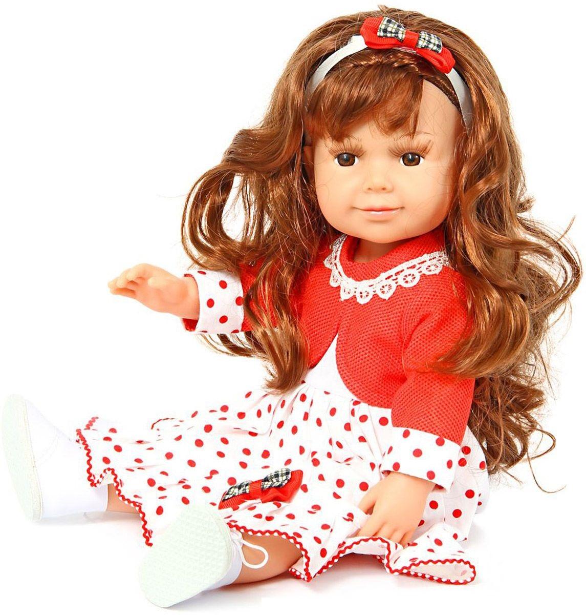 Кукла Ника 37см (можно купать), мягконабивн., ПВХ, винил