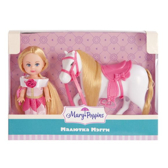 Кукла Мегги Любимая лошадка