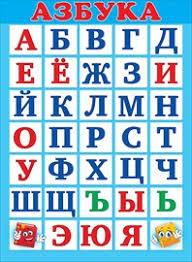 Плакат Азбука А2 вертик книжки