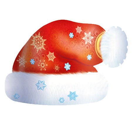 Праз Маска-ободок Дед Мороз