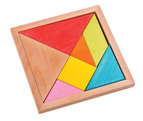 Головоломка пазл Треугольники