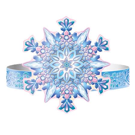 Праз Маска-ободок Снежинка