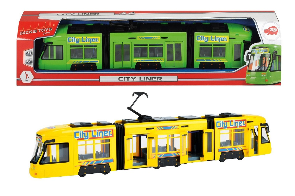 Городской трамвай, 46см в ассортим.