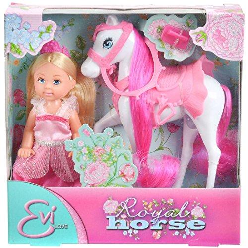 Кукла Еви 12см на лошади