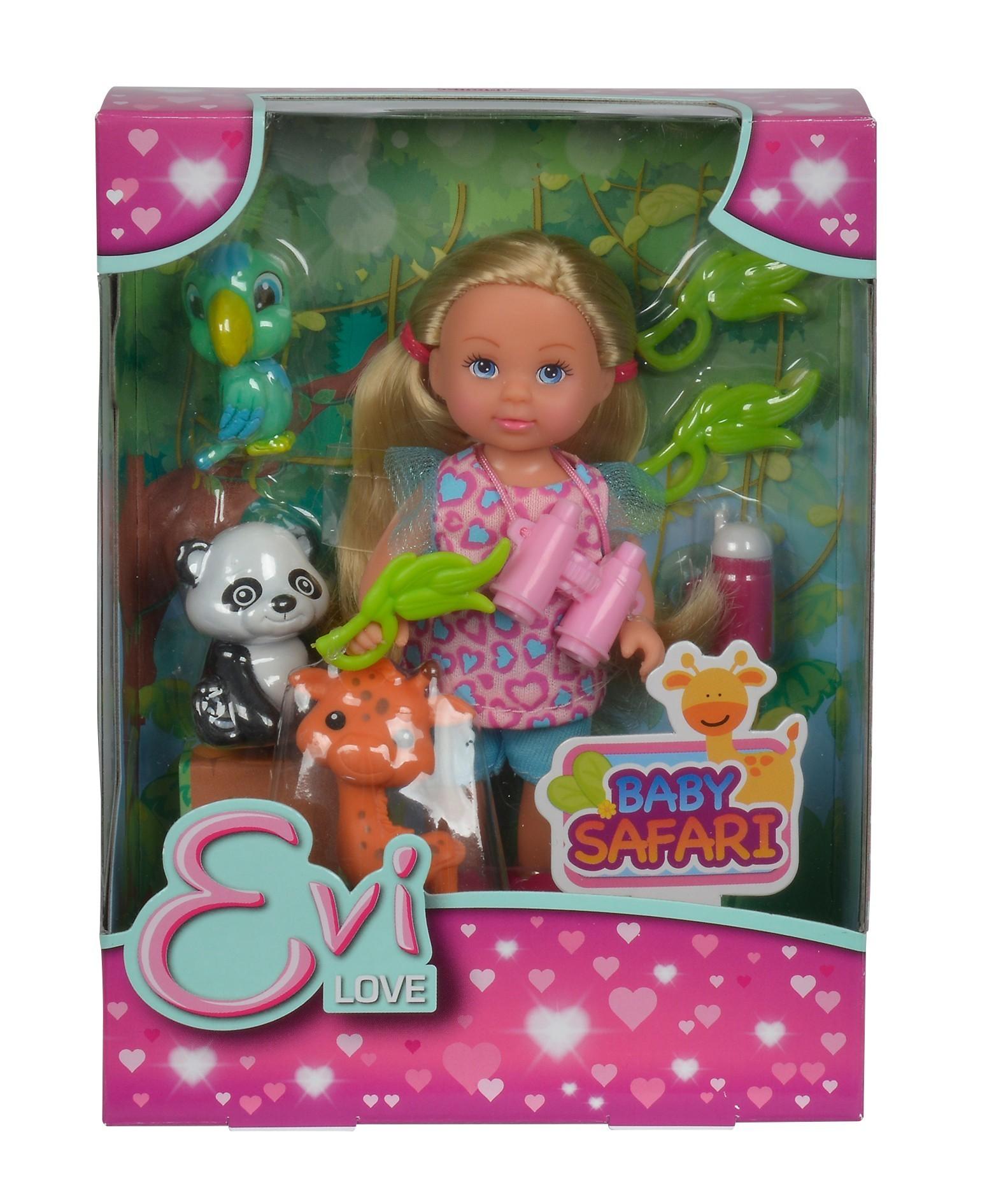 """набор Кукла Еви """"Сафари"""" 12см"""